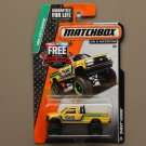 Matchbox 2015 MBX Explorers Chevy Silverado K1500 (yellow)