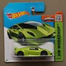 Hot Wheels 2015 HW Workshop Lamborghini Sesto Elemento (green) (SEE CONDITION)