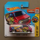 Hot Wheels 2016 HW Art Cars Custom '77 Dodge Van (pink)
