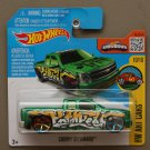 Hot Wheels 2016 HW Art Cars Chevy Silverado (green)