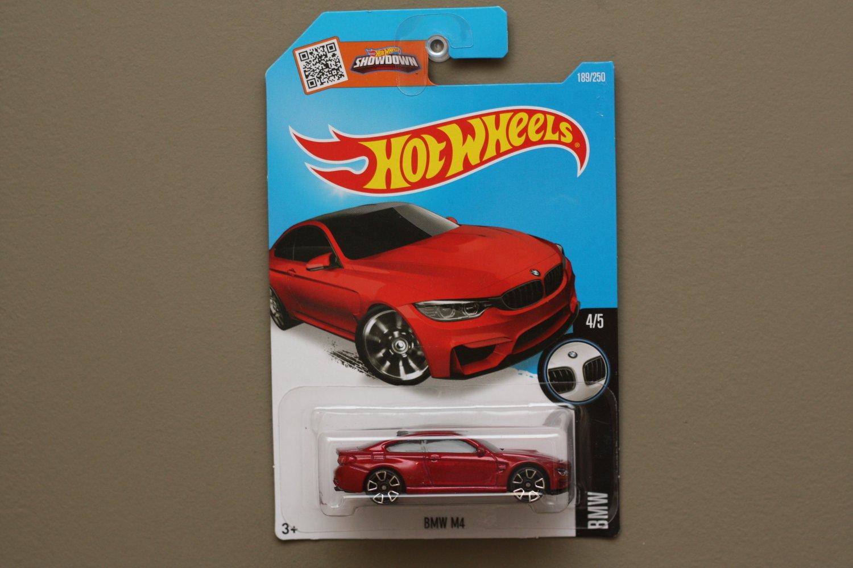 [TAMPO ERROR] Hot Wheels 2016 BMW BMW M4 (red)