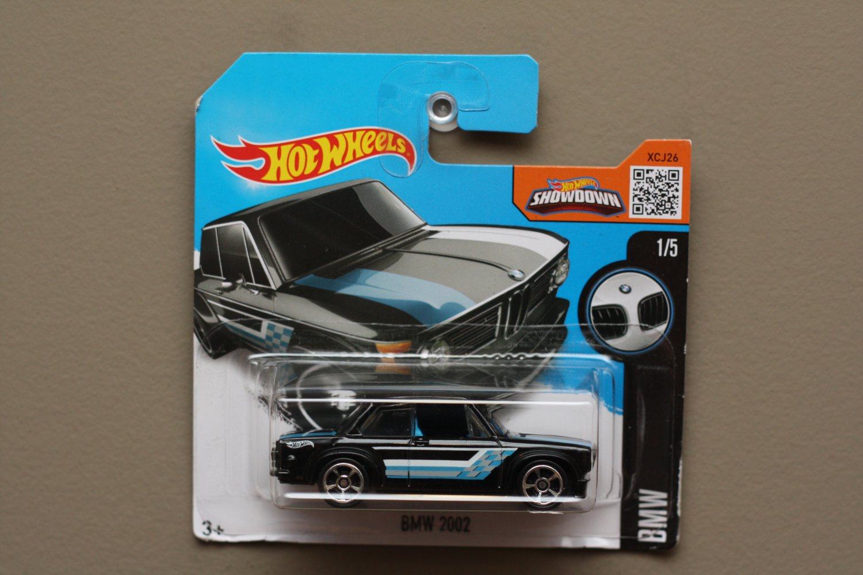 Hot Wheels 2016 BMW BMW 2002 (black) (SEE CONDITION)