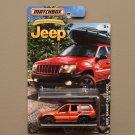 Matchbox 2016 Jeep Anniversary Edition Jeep Grand Cherokee