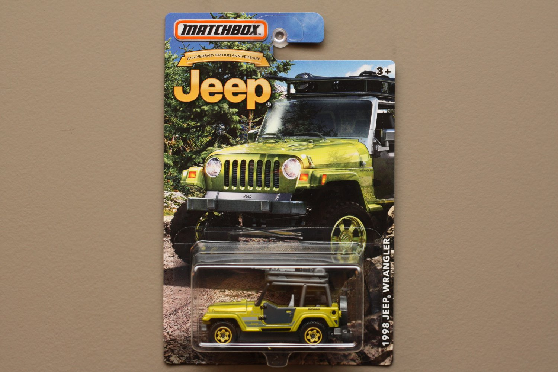 Matchbox 2016 Jeep Anniversary Edition '98 Jeep Wrangler
