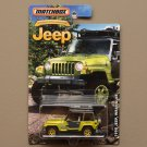 Matchbox 2016 Jeep Anniversary Edition '98 Jeep Wrangler