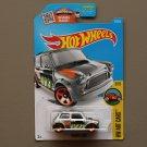 Hot Wheels 2016 HW Art Cars Morris Mini Cooper (ZAMAC silver - Walmart Excl.) (SEE CONDITION)