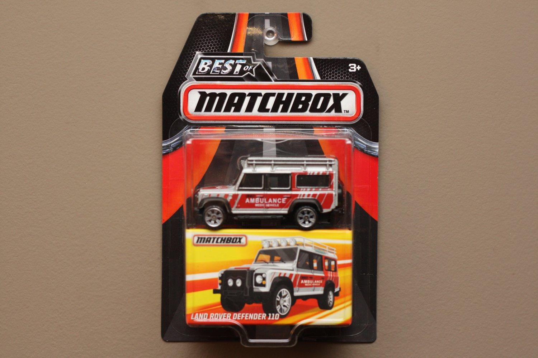 Matchbox 2016 Best Of Series Land Rover Defender 110