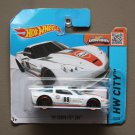 Hot Wheels 2015 HW City '09 Corvette ZR1 (gulf white) (SEE CONDITION)