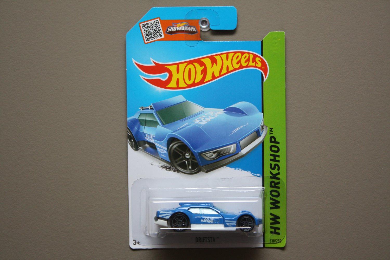 Hot Wheels 2015 HW Workshop Driftsta (blue)