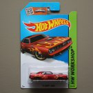Hot Wheels 2015 HW Workshop '71 HEMI Cuda (burgundy)
