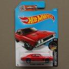 Hot Wheels 2016 Nightburnerz '69 Dodge Charger 500 (red)