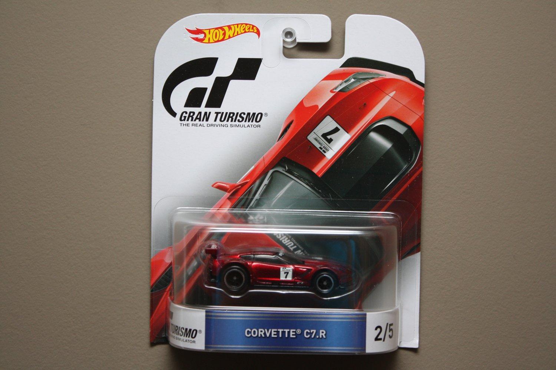Hot Wheels 2016 Retro Entertainment Gran Turismo Corvette C7.R (#2 of 5)
