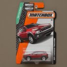 Matchbox 2015 MBX Explorers Jeep Cherokee Trailhawk (red)