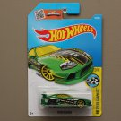 Hot Wheels 2016 HW Speed Graphics Toyota Supra (green) (SEE CONDITION)