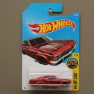 Hot Wheels 2016 HW Art Cars '65 Chevy Impala (red)