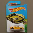 Hot Wheels 2016 HW Exotics Porsche Carrera GT (yellow)