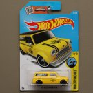 Hot Wheels 2016 HW City Works '67 Austin Mini Van (yellow)