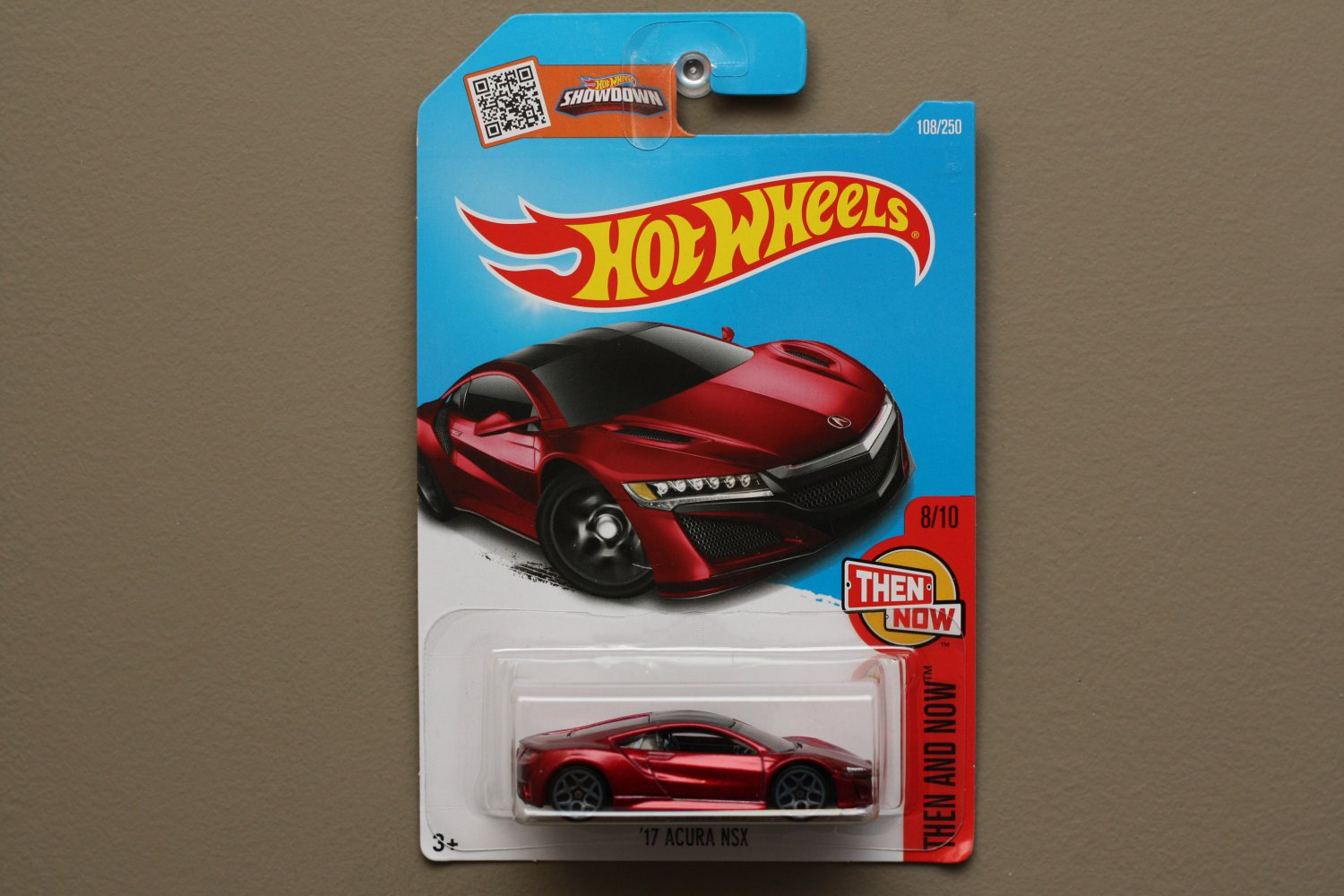 Hot wheels 2016 then and now 39 17 acura nsx red for 9 salon hot wheels 2016