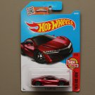 Hot Wheels 2016 Then And Now '17 Acura NSX (red)