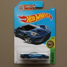 Hot Wheels 2016 HW Exotics '17 Ford GT (blue)