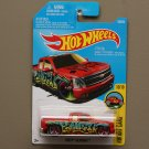 Hot Wheels 2016 HW Art Cars Chevy Silverado (red)