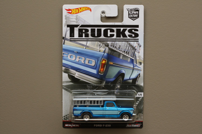 hot wheels 2016 car culture trucks ford f 250. Black Bedroom Furniture Sets. Home Design Ideas