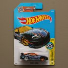 Hot Wheels 2016 HW Speed Graphics Toyota Supra (black) (SEE CONDITION)