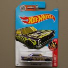 Hot Wheels 2016 HW Flames '65 Pontiac GTO (purple)