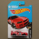 Hot Wheels 2016 Nightburnerz Nissan Skyline GT-R [R34] (red)