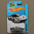 Hot Wheels 2014 HW City LaFerrari (Ferrari) (silver) (SEE CONDITION)