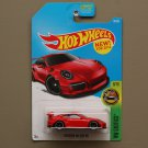 Hot Wheels 2016 HW Exotics '16 Porsche 911 GT3 RS (red)