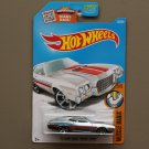 Hot Wheels 2016 Muscle Mania '72 Ford Gran Torino Sport (ZAMAC silver) (SEE CONDITION)