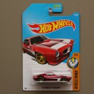Hot Wheels 2016 Muscle Mania '73 Pontiac Firebird (red - Kmart Excl.)