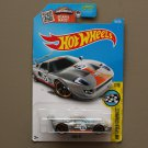 Hot Wheels 2016 HW Speed Graphics Ford GT (ZAMAC silver) (SEE CONDITION)