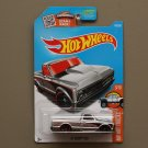 Hot Wheels 2016 HW Hot Trucks '67 Chevy C10 (ZAMAC silver - Walmart Excl) (SEE CONDITION)