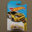 Hot Wheels 2017 HW Art Cars Volkswagen Golf MK7 (yellow)