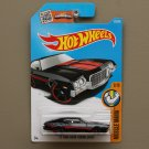 Hot Wheels 2016 Muscle Mania '72 Ford Gran Torino Sport (black)