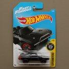 Hot Wheels 2017 Experimotors '70 Dodge Charger (black) (Fast & Furious)