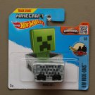 Hot Wheels 2016 HW Ride-Ons Minecraft Minecart (grey)