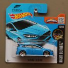 Hot Wheels 2016 Nightburnerz '16 Ford Focus RS (blue) (Forza Motorsport)