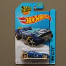Hot Wheels 2015 HW City Rocketfire (blue) (Treasure Hunt) (SEE CONDITION)