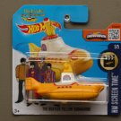 Hot Wheels 2016 HW Screen Time The Beatles Yellow Submarine (SEE CONDITION)