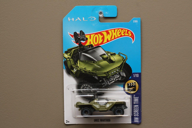 Hot Wheels 2017 HW Screen Time UNSC Warthog (HALO)