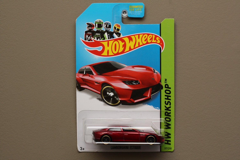 Hot Wheels 2014 HW Workshop Lamborghini Estoque (red)