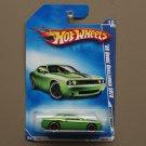 Hot Wheels 2009 Muscle Mania '08 Dodge Challenger SRT8 (green)