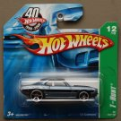 Hot Wheels 2008 Treasure Hunts '69 Camaro (steel blue)