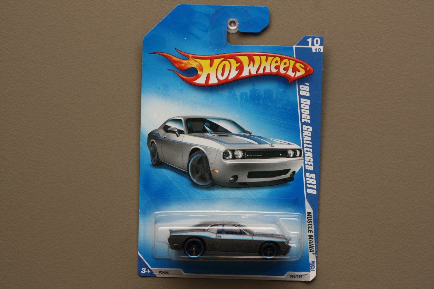 Hot Wheels 2009 Muscle Mania '08 Dodge Challenger SRT8 (grey)