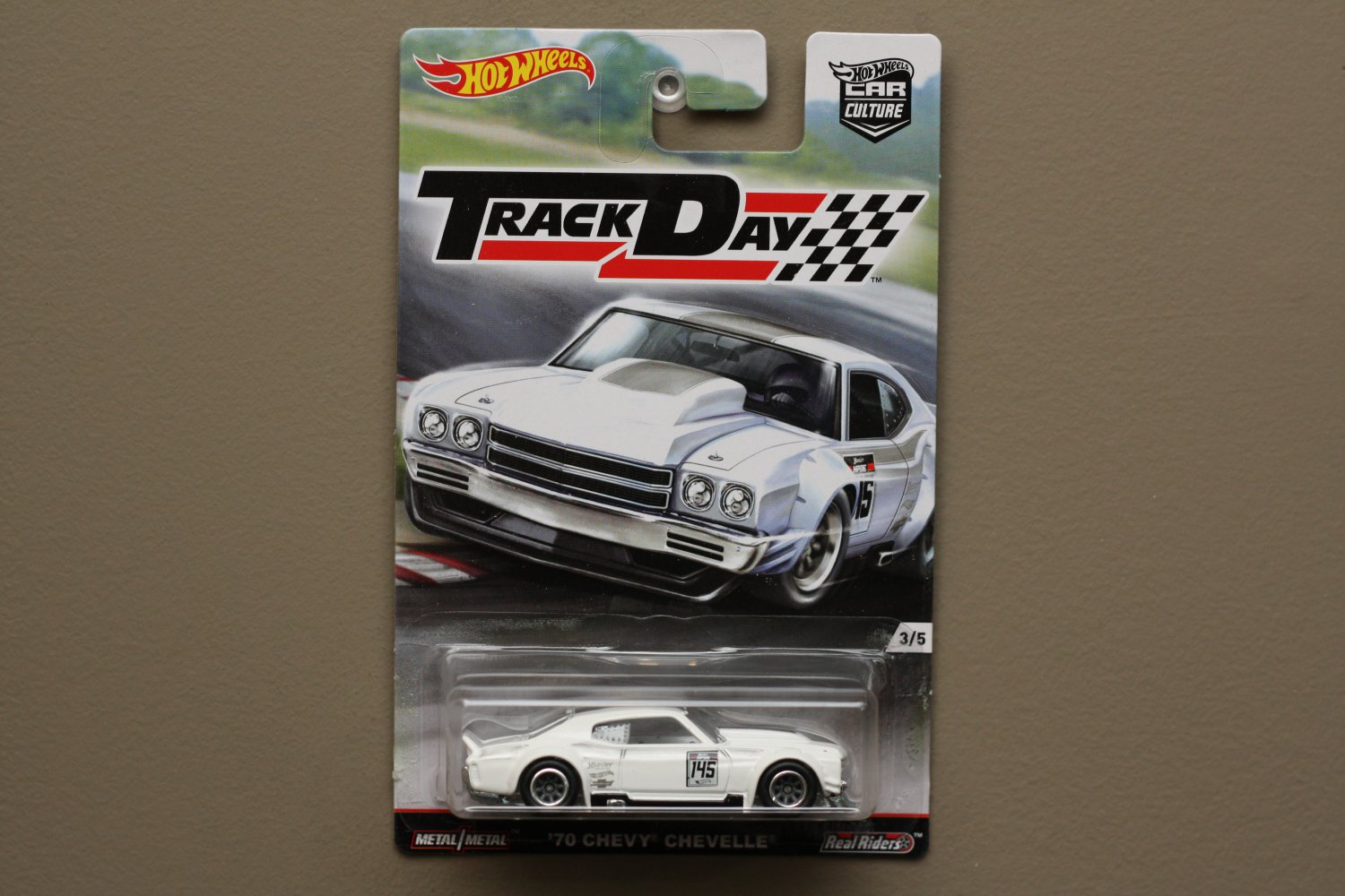 Hot Wheels 2016 Car Culture Track Day '70 Chevy Chevelle (SEE CONDITION)