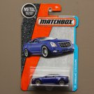 Matchbox 2016 MBX Adventure City Cadillac CTS Coupe (blue)