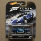 Hot Wheels 2016 Retro Entertainment Forza Motorsport '17 Ford GT (#2 of 5)